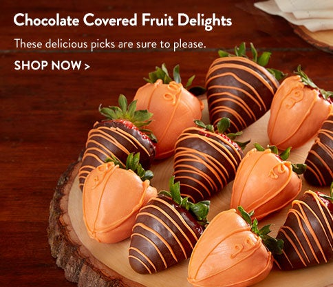 Chocolate Covered Fruit Delights