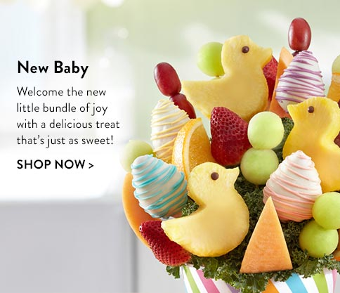 New Baby Fruit Arrangements