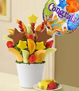 Graduation Fruit Arrangements