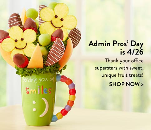 Admin Professionals Week Fruit Arrangements