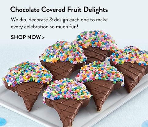 Chocolate Covered Fruit Delight