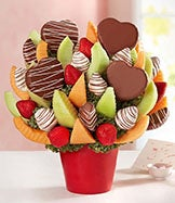 Love & Romance Fruit Arrangements