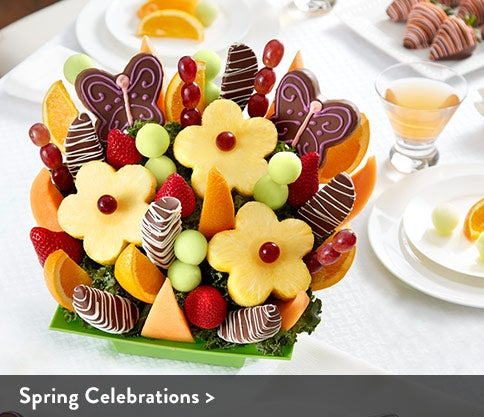 Spring Celebrations Fruit Bouquets