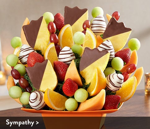 Sympathy Fruit Arrangements