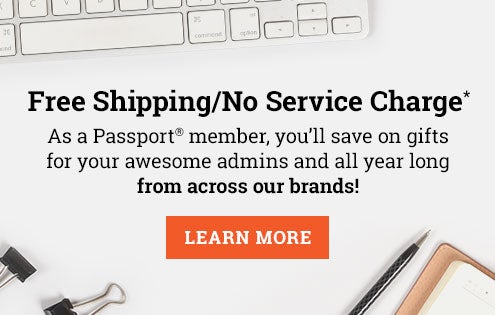 Passport member - Free Shipping / No Service Charge*