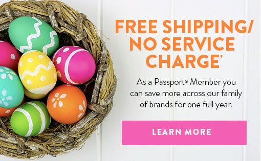 Free Shipping / No Service Charge